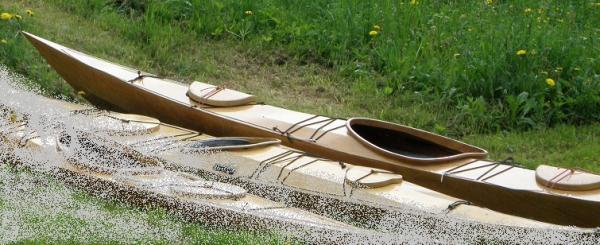 Seguin plywood kayak